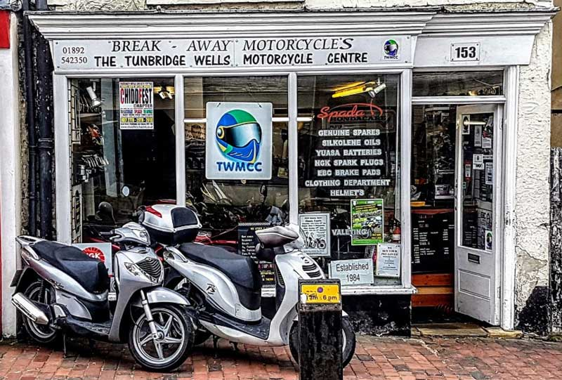 Our shop in Tunbridge Wells, Kent
